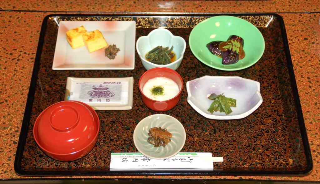 善光寺宿坊の精進料理のイメージ