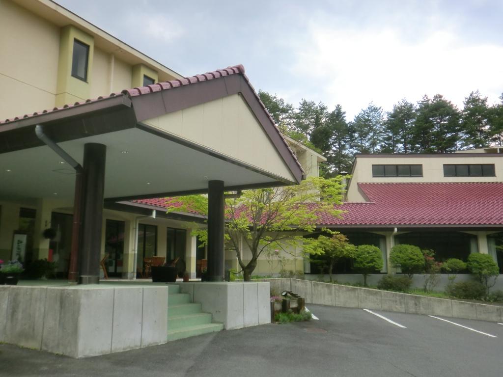 森のホテル外観