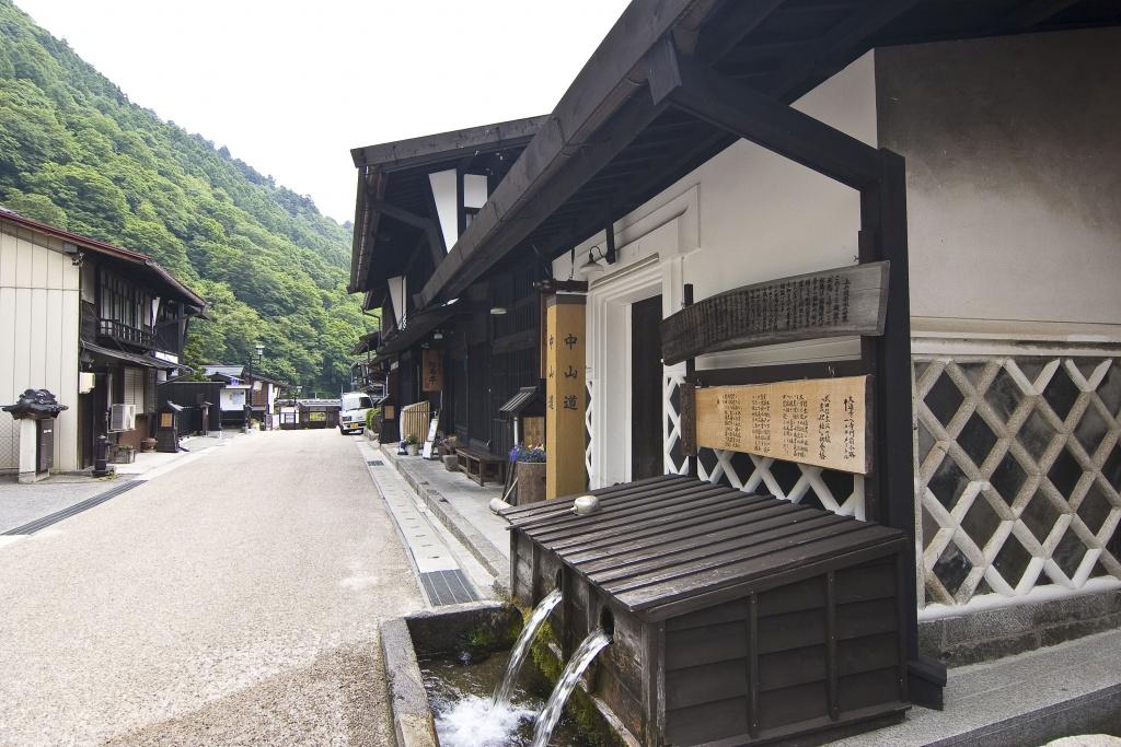 福島宿・上の段