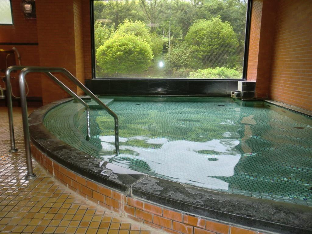 森のホテル大浴場