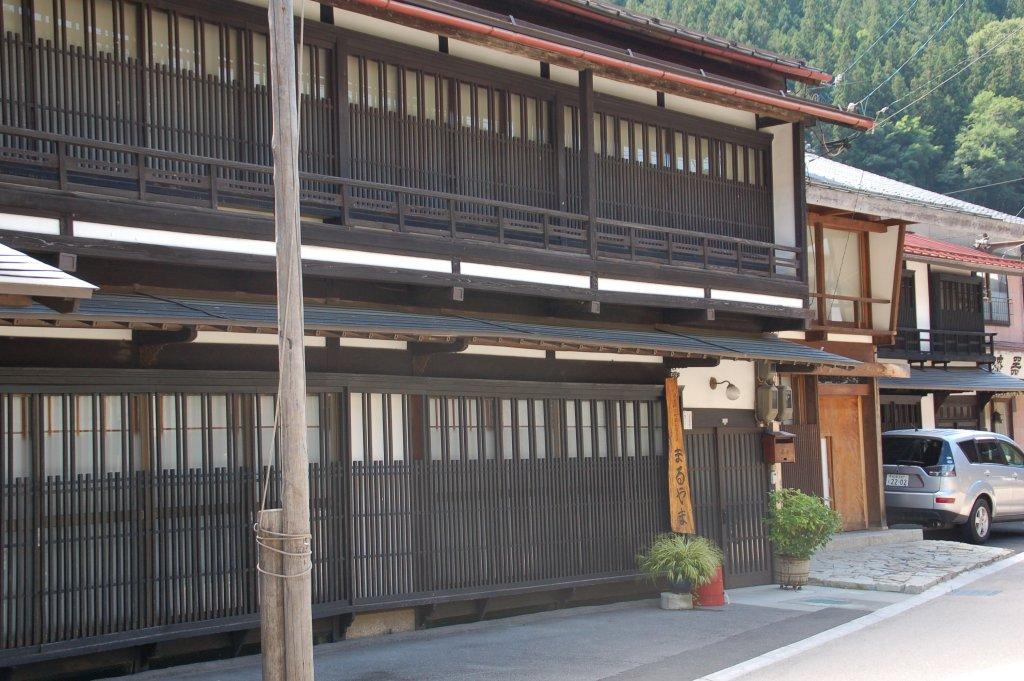 木曽平沢の垂木構造の小庇イメージ