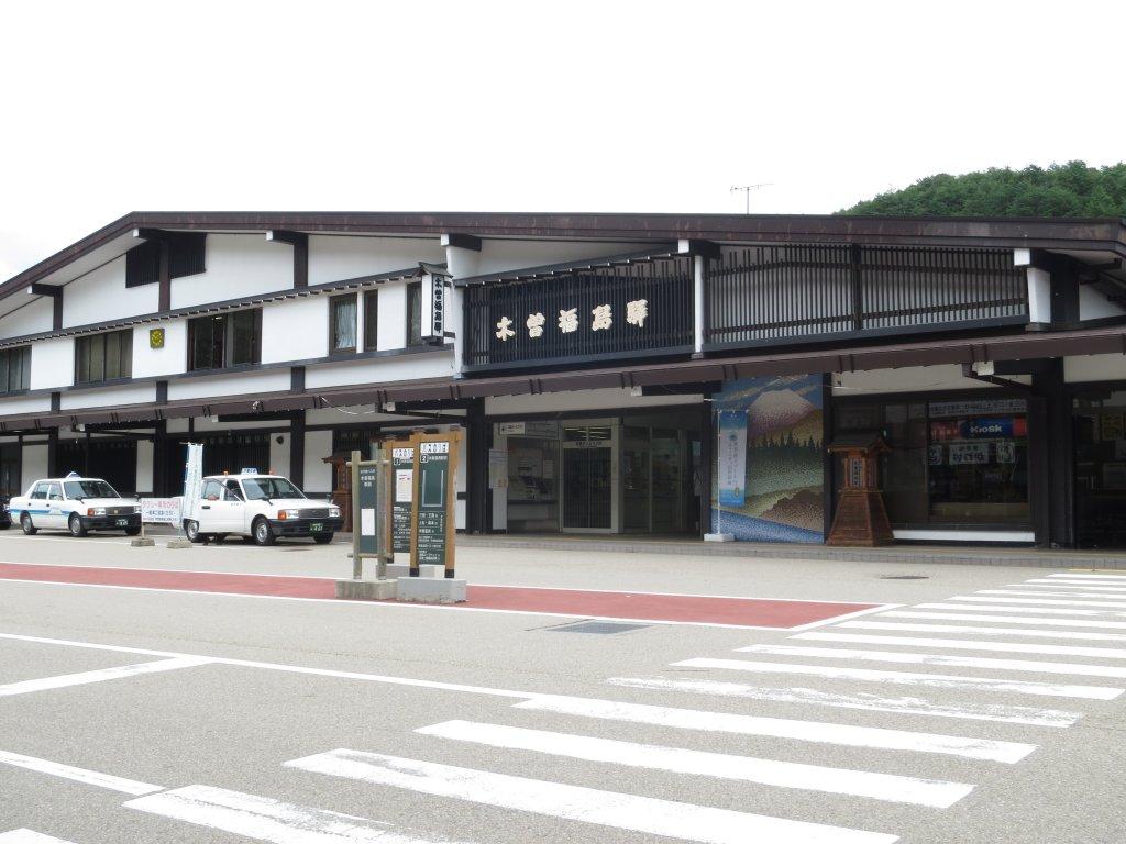 木曽福島駅の外観